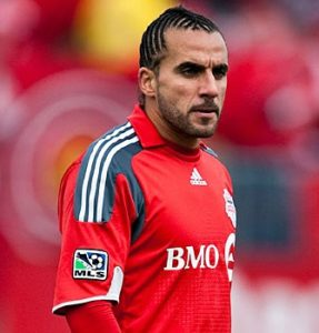 Toronto FC Captain and Scarborough Native Dwayne De Rosario