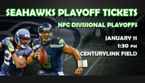 Buy Seattle Seahawks playoff tickets