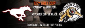 Buy Grey Cup tickets