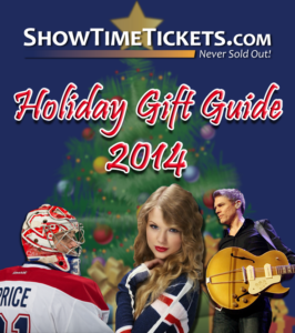 ShowTimeTickets.com Holiday Gift Guide